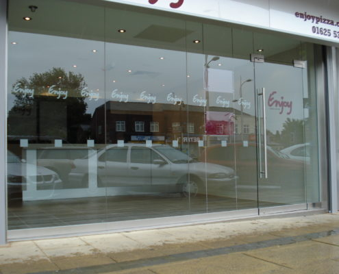 Toughened Amp Frameless Glass Shop Fronts Doors Supreme